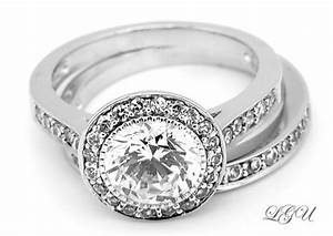 sterling silver engagement wedding combo ring sz 7 With wedding ring combo