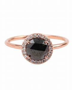 The new lbd the little black diamond engagement ring for Black wedding rings with diamonds