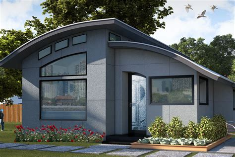 Prefabricated panelized home packages, as landmark supplies, provide the best efficiencies in building for cost and quality control which help you design and build your new home. Prefab smart home, Flex House, available to order - Curbed