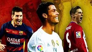 Barcelona, Atletico Madrid and Real Madrid - La Liga title ...