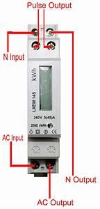 Single Phase 45a Kilowatt Hour Meter