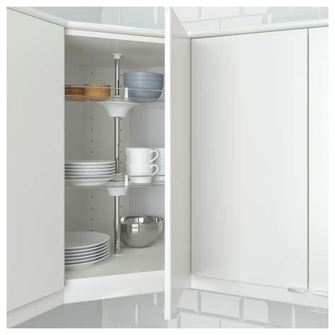 kitchen corner wall cabinet utrusta wall corner cabinet carousel ikea