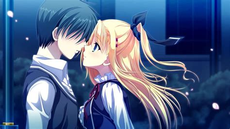 romantic cute anime couples images animated couple pics