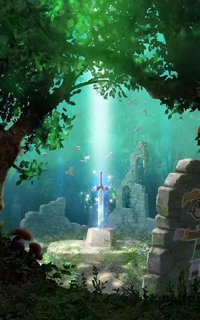 Phone Zelda Legend Wallpapers Backgrounds Cell Tablet