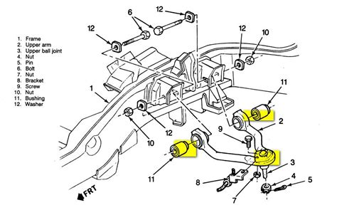 2004 Chevy Silverado Front End Part Diagram by 88 Chevy Silverado 4x4 5 7 L Front End Problem The