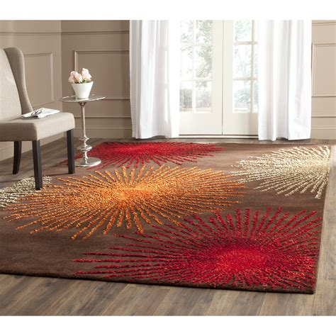 safavieh soho rug safavieh soho brown handmade area rug reviews wayfair ca