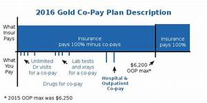 2016 Obamacare Gold Health Plan Co-pay Description
