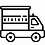 Icon Truck Clipart Transportation Cargo Vehicle Icons
