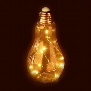 Lampe Mit Mehreren Lampenschirmen : deko gl hbirne led tischleuchte batteriebetriebene led ~ A.2002-acura-tl-radio.info Haus und Dekorationen