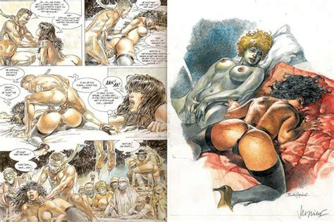 Druuna Comic Series The Infamous Goddess Of Erotic Illustration Widewalls