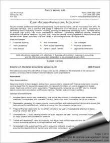 professional resume template accountant cv document template accountant l picture accountant resume sle