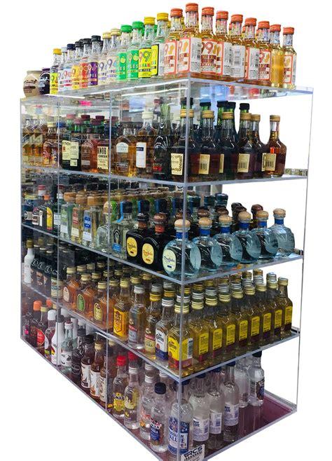 commercial display  bin ml liquor shot bottles mini