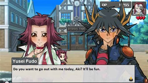 yusei asks aki out by jennytheyugioh5dsfan on deviantart