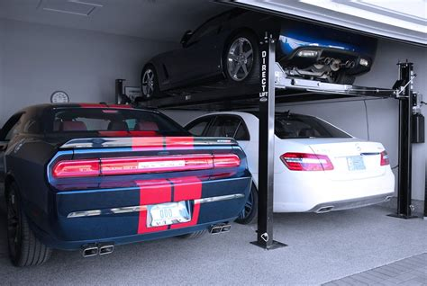 hydraulic car lift home garage schmidt gallery design