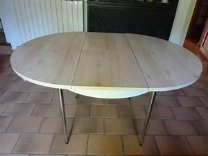 Table Ronde Cuisine : table rallonge ronde ovale occasion clasf ~ Teatrodelosmanantiales.com Idées de Décoration