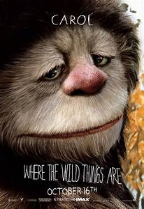 Four 'Where the Wild Things Are' Character Posters