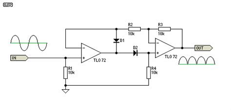 good full wave precision rectifier   circuits