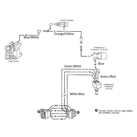 1965 ford mustang wiring diagram mustang american