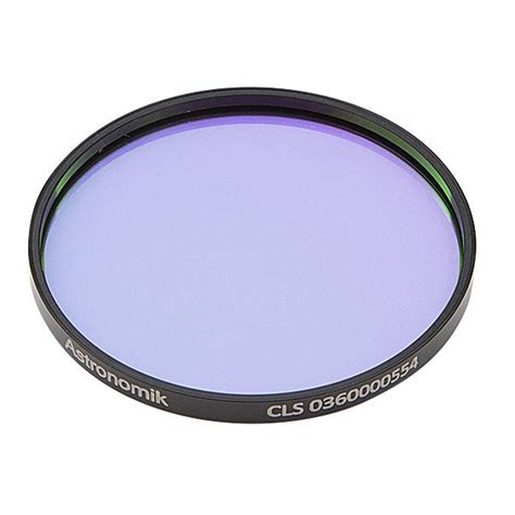 astronomik cls light pollution filter astronomik cls visual light pollution filter 50mm round