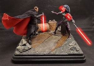 Stronox Custom Figures: Starkiller vs. Darth Phobos Dio ...