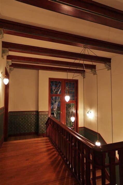 treppenhaus beleuchtung  einer jugendstil villa