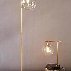 Carved wood base floor lamp products bookmarks design for Gold globe floor lamp