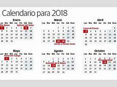 Calendario laboral 2018 los días festivos en España El
