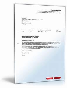 Wohnungsbesichtigung Fragen An Vermieter : besichtigungsverlangen vermieter vorlage zum download ~ Watch28wear.com Haus und Dekorationen
