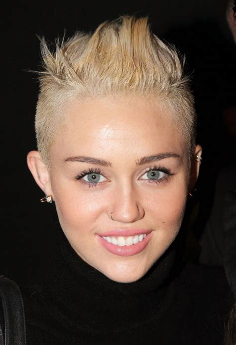 miley cyrus haircut 2013