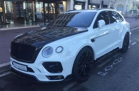 bentley jeep mansory bentley bentayga spotted prior to debut