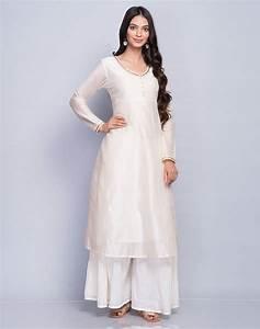 Buy Fabindia Natural Silk Cotton Empireline Zari
