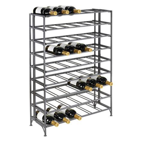 iron wine rack 54 bottle iron folding wine rack the container