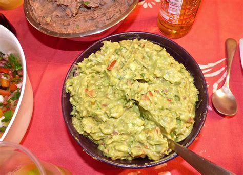 cuisine mexique le guacamole mexicain la cuisine de micheline