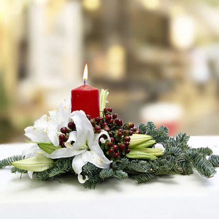 christmas centerpieces delivered merry delivery centerpiece in uae gift centerpiece ferns n petals