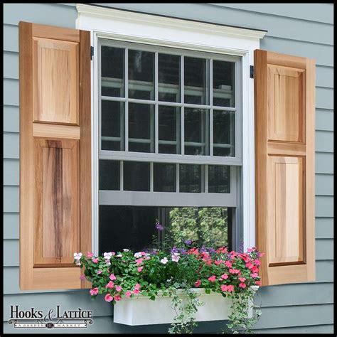 b d shutters best 25 cedar shutters ideas on wood shutters