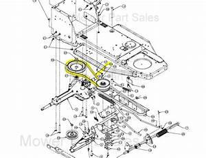 Mtd Variable Speed Pulley To The Gearbox Belt Fits Rh 115