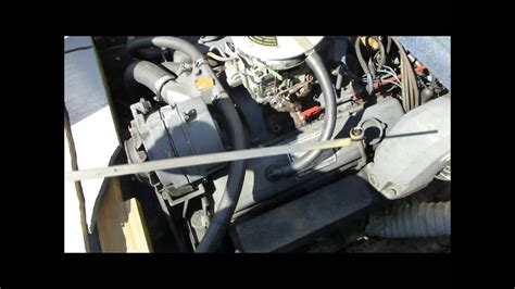 boat engine oil change problem water   oil youtube