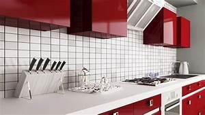 3 looks pour un dosseret de cuisine tendance inspiration With couleur papier peint tendance 11 carrelage metro inspiration et idees deco pour cuisine