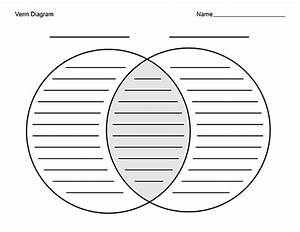Blank Venn Diagram Template With Lines