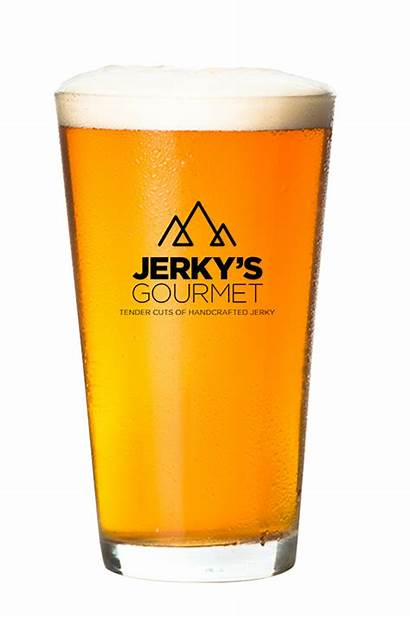 Beer Jerky Gourmet Transparent Glass Beef Fed