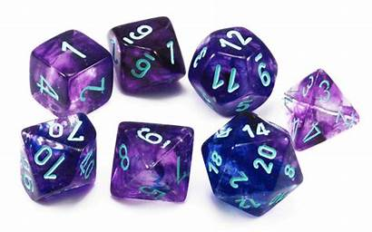 Chessex Dice Lab Nebula Nocturnal Rpg Playing