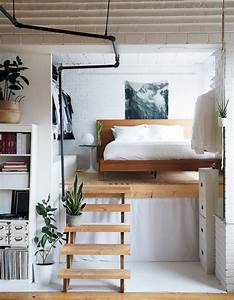 Small Bedroom Solution: The Half Loft Apartment Therapy