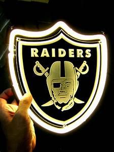 Wiki Neon Sign Blog NFL OAKLAND RAIDERS FOOTBALL neon