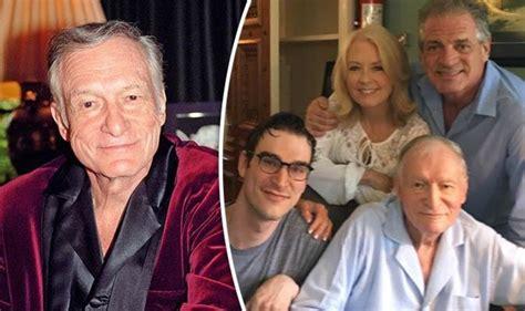 Hugh Hefner dead - Playboy founded last pictured looking ...