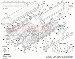 Aston Martin Db7 Vantage Cylinder Head Parts