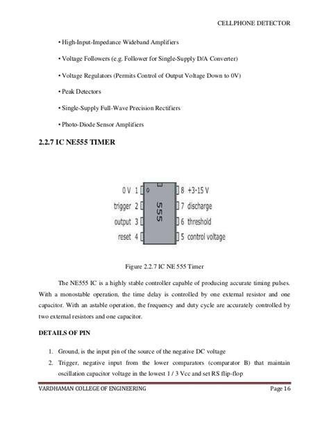 Cellphone Detector Report