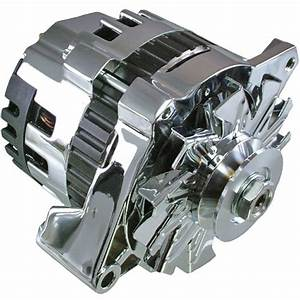 New Premium Quality Hi Output Chrome Alternator 220 Amps 1