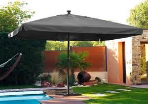 parasol alluminium 224 manivelle 4x4 m teamotep com