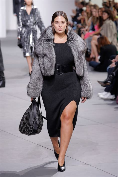 New Model by 27 Times Plus Size Models Walked At Fall 2017 New York