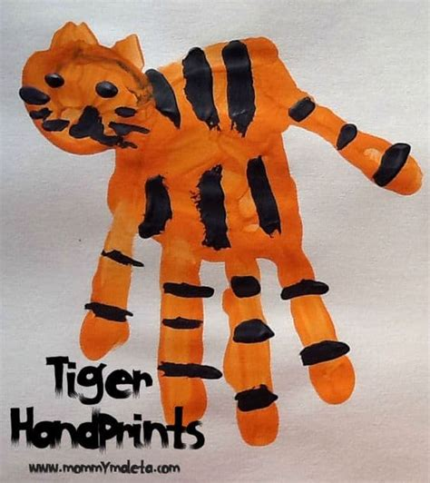 cute tiger themed crafts